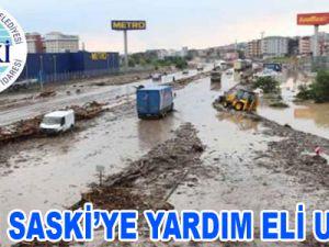 KASKİ SASKİ'YE YARDIM ELİ UZATTI