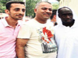 Fenerli futbolcular imama fena yakalandı