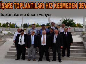 MHP'DE İSTİŞARE TOPLANTILARI HIZ KESMEDEN DEVAM EDİYOR