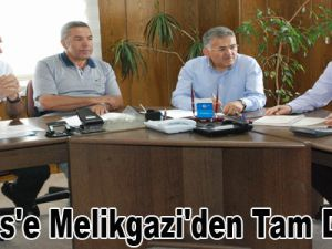 Erciyes'e Melikgazi'den Tam Destek