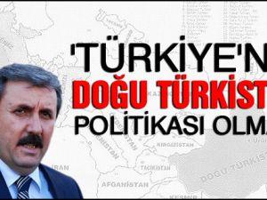 'Türkiye'nin Doğu Türkistan politikası olmalı'