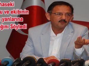 Başkan Özhaseki Kılıçdaroğlu ve ekibinin iftiralarının yanlarına kalmayacağını söyledi