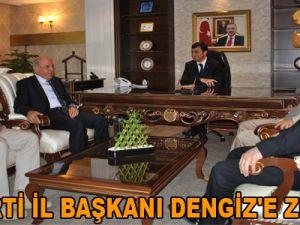 AK PARTİ İL BAŞKANI DENGİZ'E ZİYARET