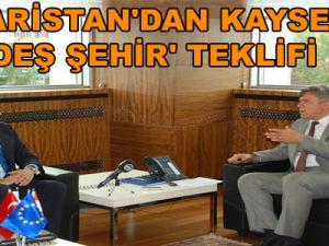 MACARİSTAN'DAN KAYSERİ'YE 'KARDEŞ ŞEHİR' TEKLİFİ
