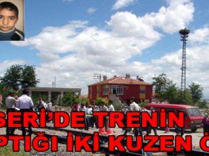 Kayseri'de Lokomotifin Çarptığı 2 Çocuk Öldü / Video