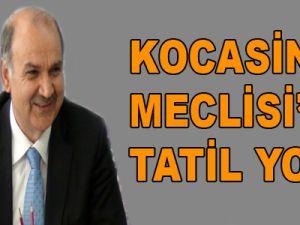 KOCASİNAN MECLİSİ'NE TATİL YOK