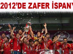 EURO 2012'DE ZAFER İSPANYA'NIN