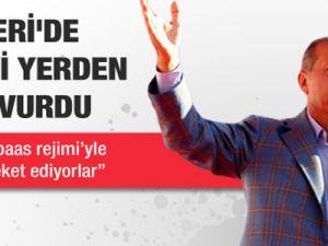 Başbakan Kayseri'de Hem Suriye'ye Hem CHP'ye Çattı