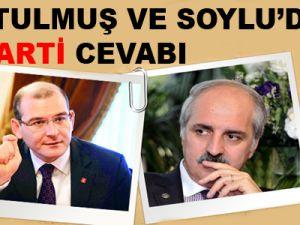 Kurtulmuş ve Soylu'dan AK Parti cevabı
