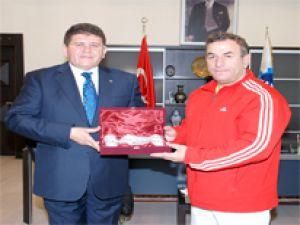 Bedri Ayzet'ten Mustafa Boydak'a Ziyaret