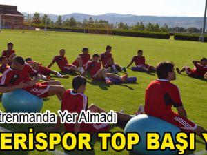 KAYSERİSPOR TOP BAŞI YAPTI
