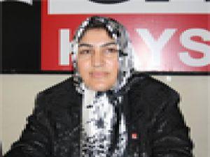 CHP KAYSERİ İL KADIN KOLLARI'NA YENİ ADAY