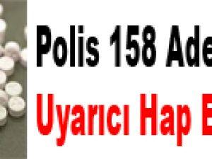 KAYSERİ'DE POLİS 158 ADET CİNSEL UYARICI HAP ELE GEÇİRDİ
