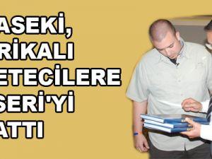 ÖZHASEKİ, AMERİKALI GAZETECİLERE KAYSERİ'Yİ ANLATTI