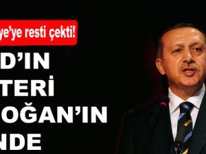 Esad'ın Şalteri Erdoğan'ın Elinde
