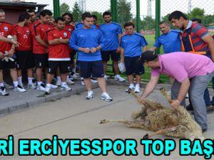 KAYSERİ ERCİYESSPOR TOP BAŞI YAPTI