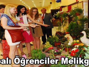 Avrupalı Öğrenciler Melikgazi'de
