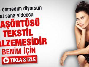 Şevval Sam: Başörtüsü Tekstil Malzemesidir - Video
