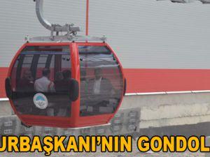 CUMHURBAŞKANI'NIN GONDOL KEYFİ / VİDEO