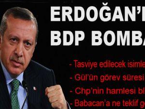 Erdoğan'dan Müthiş BDP İddiaları