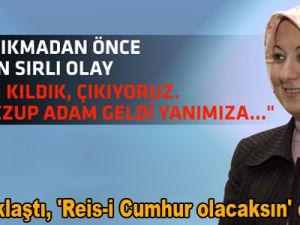 Abdullah Gül'ün Eyüp Sultan'da yaşadığı ilginç olay