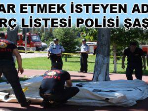 KAYSERİ'DE POLİSİ ŞAŞIRTAN BORÇ LİSTESİ