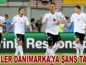 Panzerler Danimarka'ya Şans Tanımadı! Video