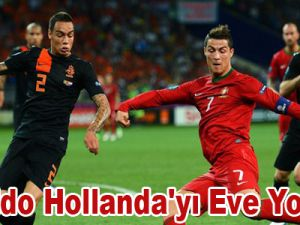 Ronaldo Hollanda'yı Eve Yolladı! Video