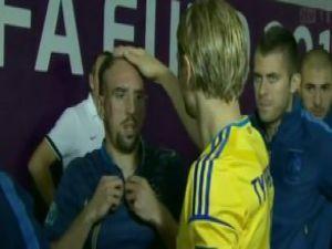 Frank Ribery'i kızdıran şaka / VİDEO
