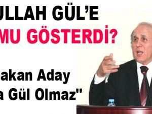 ''Başbakan Aday Olursa Gül Olmaz''