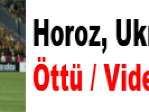 Horoz, Ukrayna'da Öttü / Video