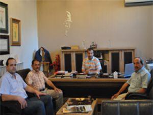 Eğitim-Bir-Sen Refik Tuzcuoğlu'nu Ziyaret Etti