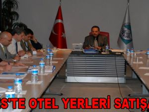 ERCİYES'TE OTEL YERLERİ SATIŞA ÇIKTI