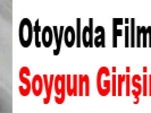 Otoyolda Film Gibi Soygun Girişimi / Video