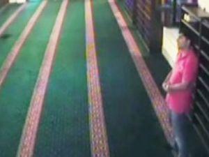 Ayakkabı hırsızı güvenlik kamerasında - Video