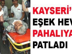 EŞEK HEVESİ PAHALIYA PATLADI