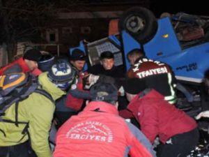 Kayseri'deki Trafik Kazasında ölenlerin kimlikleri
