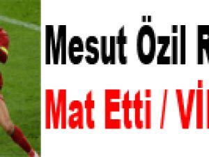 Mesut Özil Ronaldo'yu Mat Etti / VİDEO