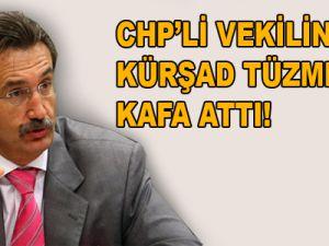 CHP milletvekilinin oğlu Kürşad Tüzmen'e Kafa Attı!