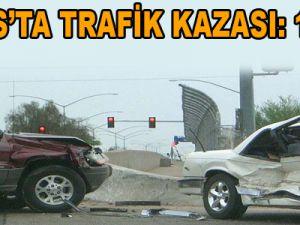 TALAS'TA TRAFİK KAZASI: 1 ÖLÜ