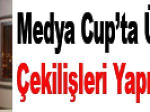 Medya Cup'ta üçüncü tur çekilişleri yapıldı