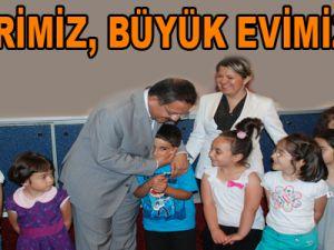 """""""ŞEHRİMİZ, BÜYÜK EVİMİZDİR"""""""