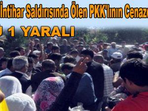 Kayseri'de İntihar Saldırısında Ölen PKK'lının Cenazesinde Olay