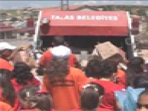 Talas Belediyesi Çevre Faaliyetlerini Hız Kesmeden Sürdürüyor