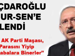 Kemal Kılıçdaroğlu Memur-Sen'e Yüklendi