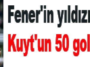 Fener'in yıldızı Kuyt'un 50 golü! / VİDEO