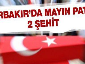 Diyarbakır'da mayın patladı: 2 şehit