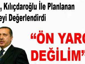"""Başbakan Erdoğan: """"Önyargılı Değilim - Video"""