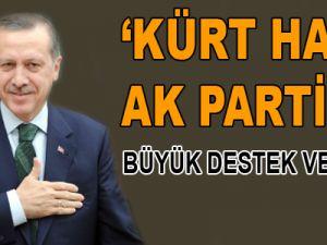 Kürt Halkı AK Parti'ye Büyük Destek Veriyor