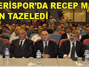 KAYSERİSPOR'DA RECEP MAMUR GÜVEN TAZELEDİ